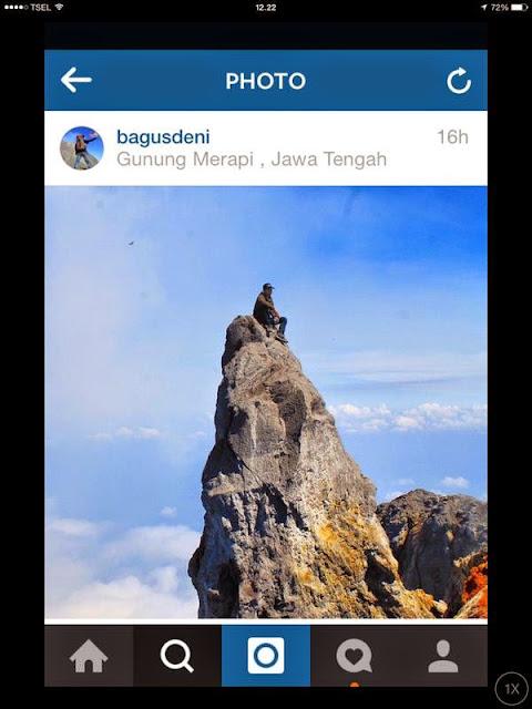Kumpulan Foto Terbaru Evakuasi Eri Yunanto Pendaki Yang Jatuh ke Kawah Merapi