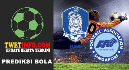 Prediksi Korea Republic U19 vs Singapore U21
