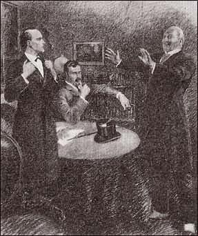 James Damery doesn't smoke; Sherlock Holmes doesn't care