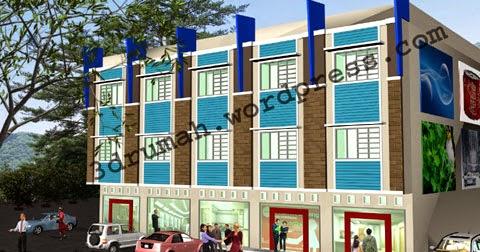 contoh desain ruko minimalis 3 lantai | desain rumah
