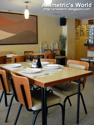 Inside Finio Modern Pinoy Restaurant