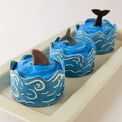 Edible Ocean Cupcake Wrappers