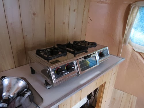 travel trailer stove