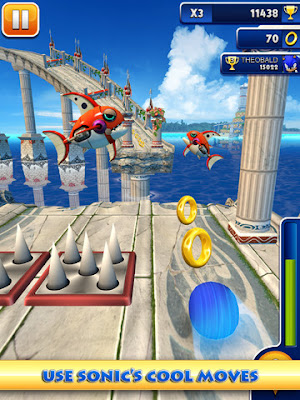Sonic Dash now available for iPhone, iPad and Android