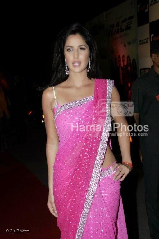 Katrina Kaif saree pink
