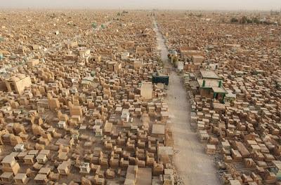 Wadi Al-Salam, Daerah Tanah Kuburan Terbesar Di Dunia