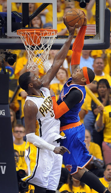 Hibbert block on Carmelo