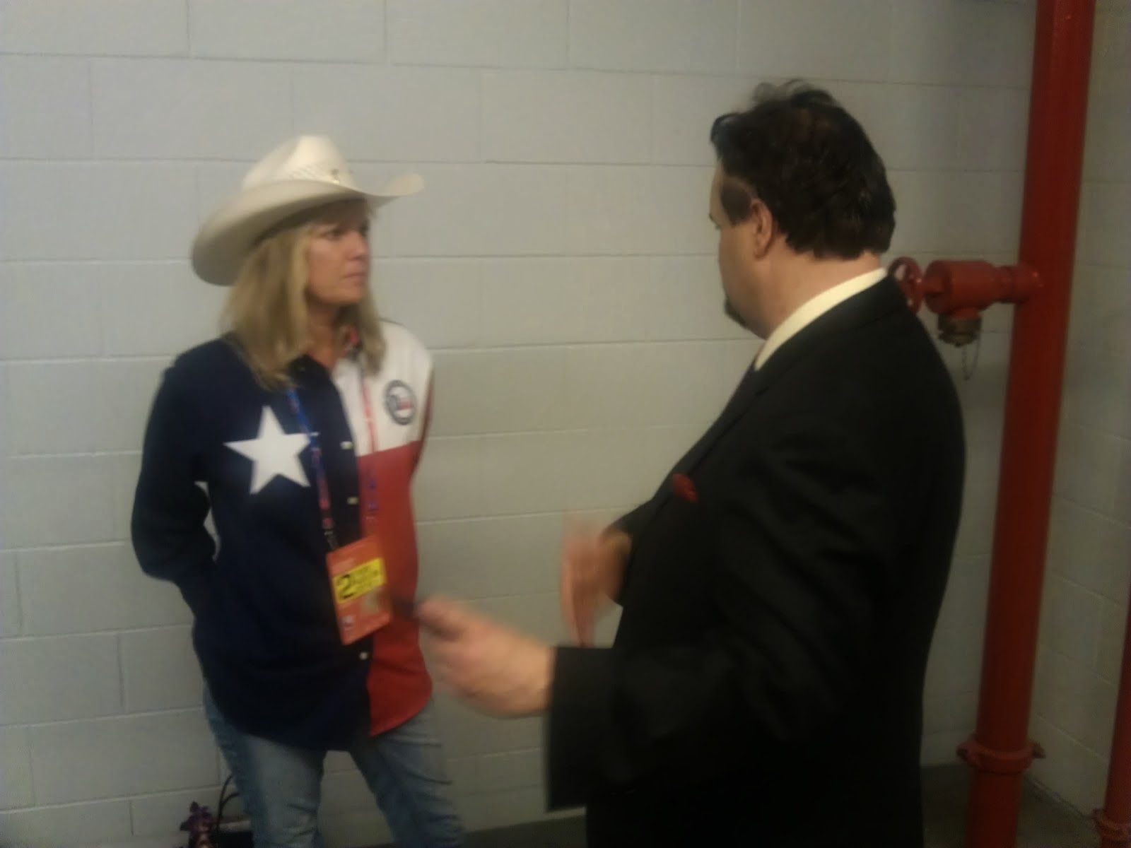 Stranahan (a Breitbart reporter)  -  Interview at Republican National Convention 2012