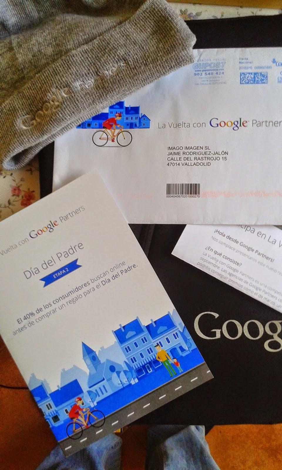 Felicitación día del Padre de Papa Google a Jaime Jalón