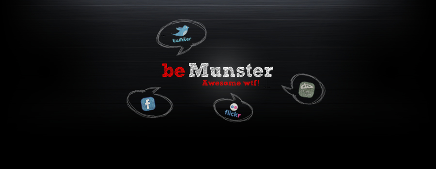 be Munster *it works*