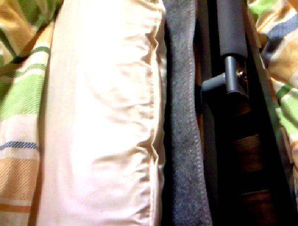 除湿シートをすのこベットに敷いた画像