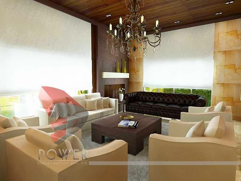 3d Render House Interior