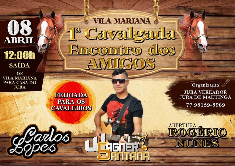 1ª Cavalgada dos Amigos de Vila Mariana