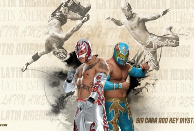 sin cara vs rey mysetrio wallpaper players comparison