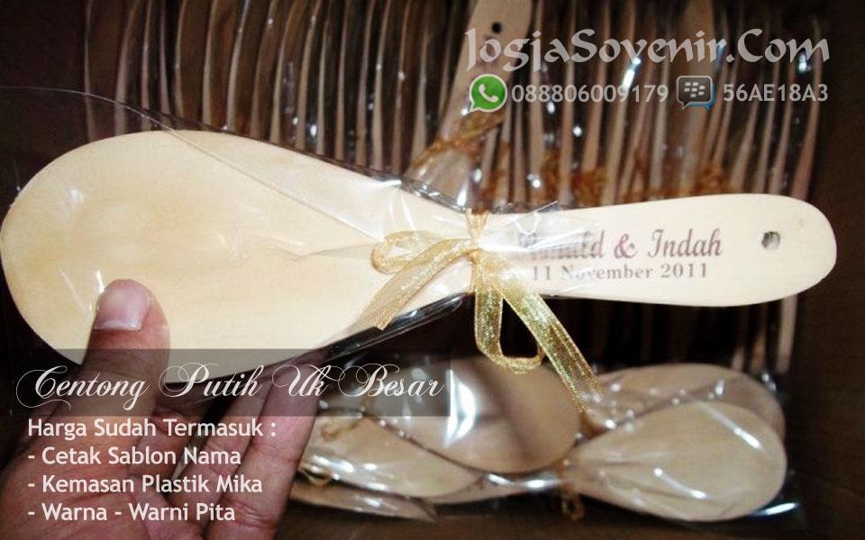 souvenir centong nasi murah