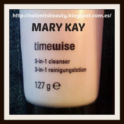 Mary Kay: TimeWise limpiadora 3 en 1