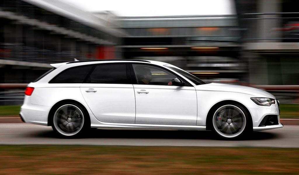 2014 Audi RS6 Avant Side Wallpaper