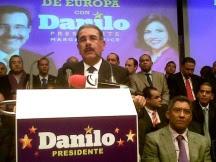 Danilo llama a votar por Marcos Cross en Europa
