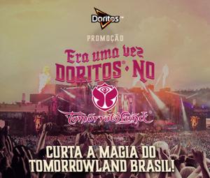 Participar da promoção Doritos ingressos Tomorrowland Brasil 2015