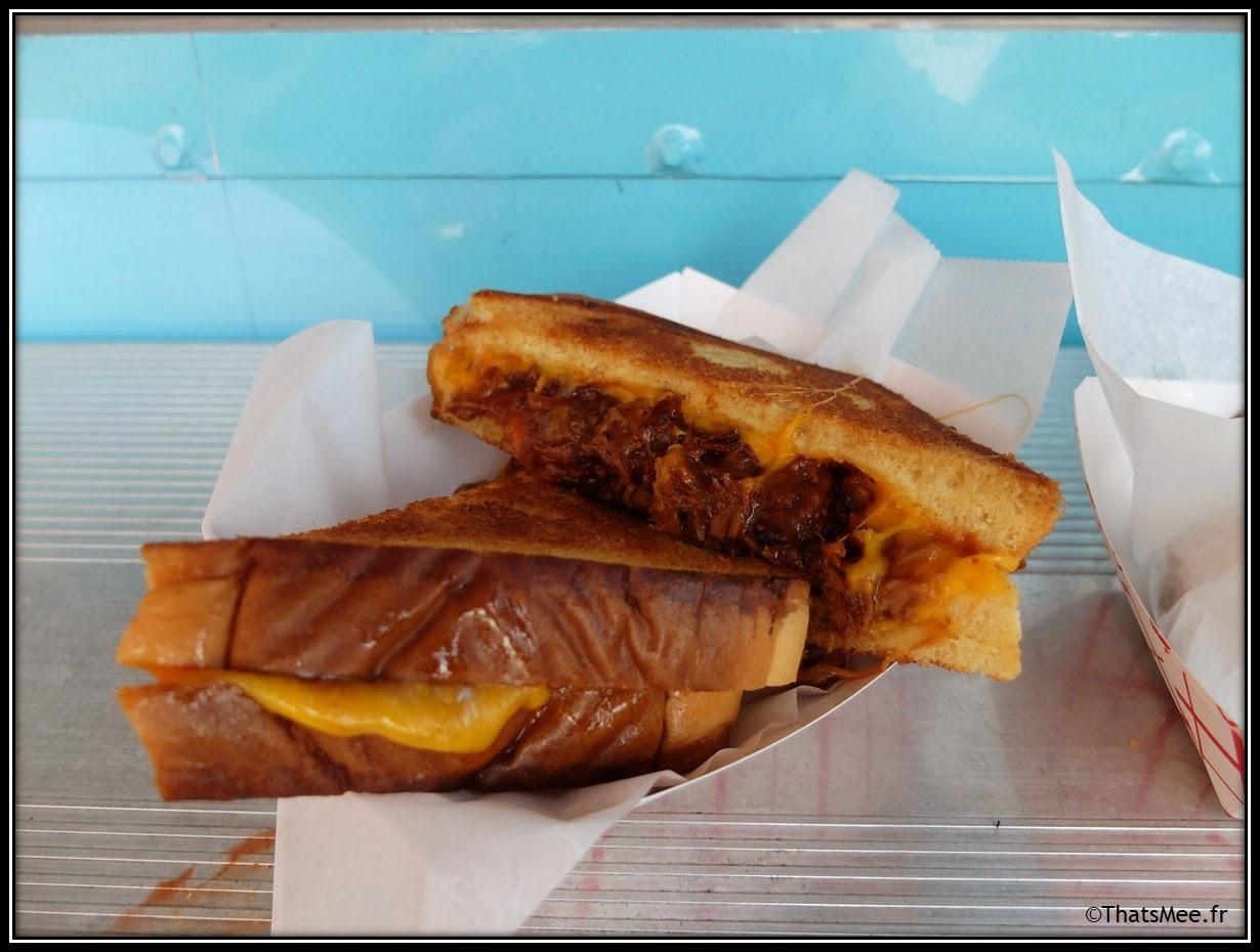 Best-Seller de Ms Cheezious recette BBQ pulled melted pork cheese, porc et oignons caramélisés fromage foodtruck Miami