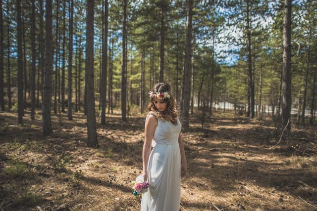 sesion editorial inspiracion novias tocado sergio rojas pronovias blog bodas retales de bodas