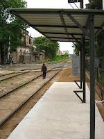Paso Molino Montevideo Uruguay parada de tren