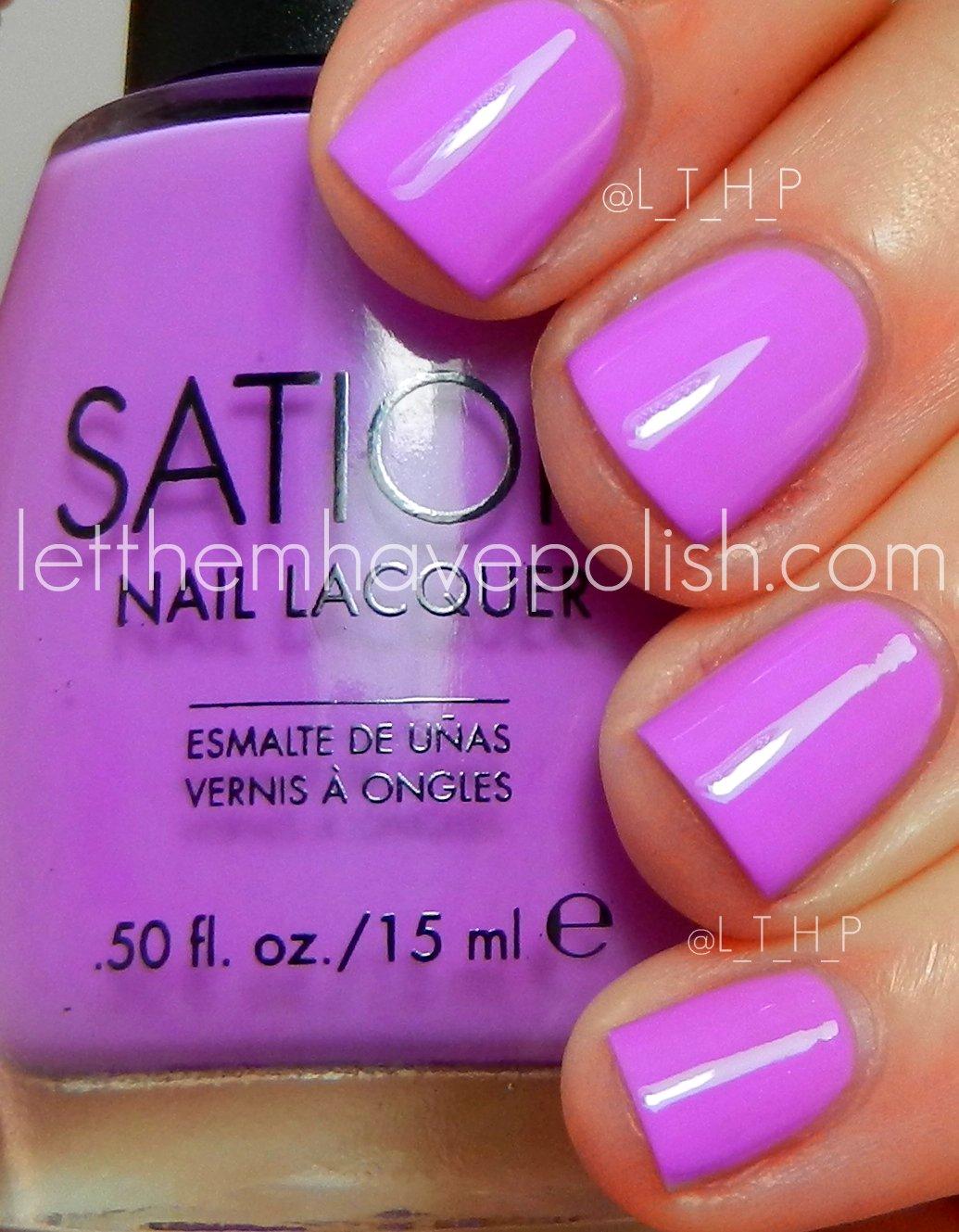 Sation Nail Polish Color Chart