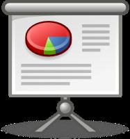 Icona di una presentazione di slide. Fonte: Tango Desktop Project