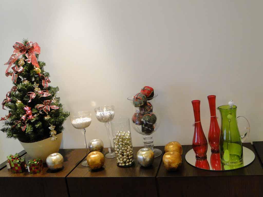 Decoracao De Sala Natal ~ um jogo de jantar tradicional mesclando com elementos natalinos