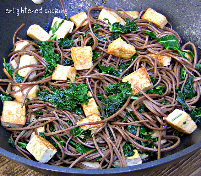 Kale, Tofu, and Soba Noodle Stir-Fry {vegan + gluten-free ...