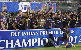 Kolkata Knight Riders Won IPL Trophy