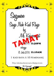 Segmen Kad Raya by Ms. Kejupenyet