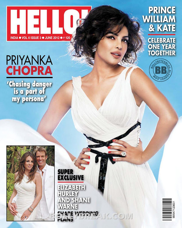 Priyanka Chopra's HELLO Magazine Scans in HD - June 2012