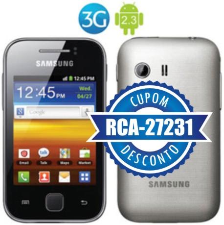 Cupom Efácil - Smartphone Samsung Galaxy Y S5360 3G