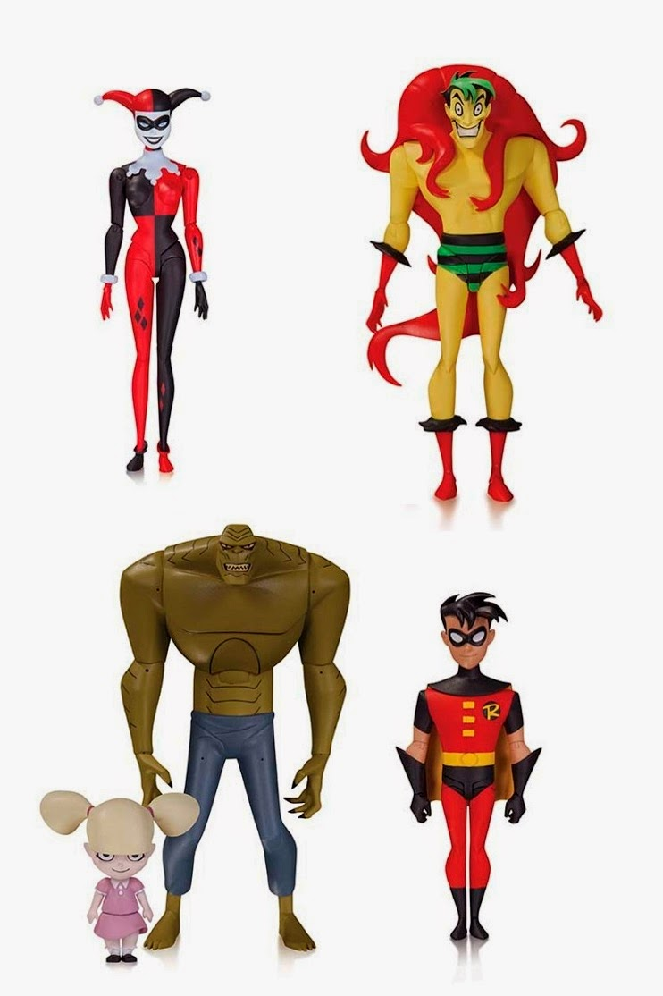 "Batman The Animated Series Wave 3 6"" Action Figure by DC Collectibles – Harley Quinn, The Creeper, Killer Croc & Baby Doll and Robin"