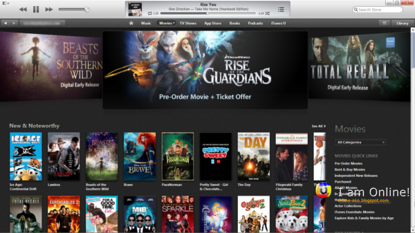 how to clear movies of itunes