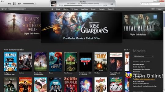 iTunes 11, iTunes Store, Movies