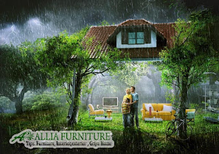 Rumah tetap nyaman di musim hujan