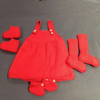 robe tricotée main