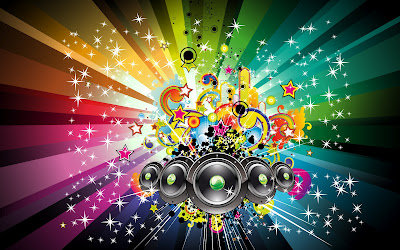 wallpapers and backgrounds music - Colourfull Music