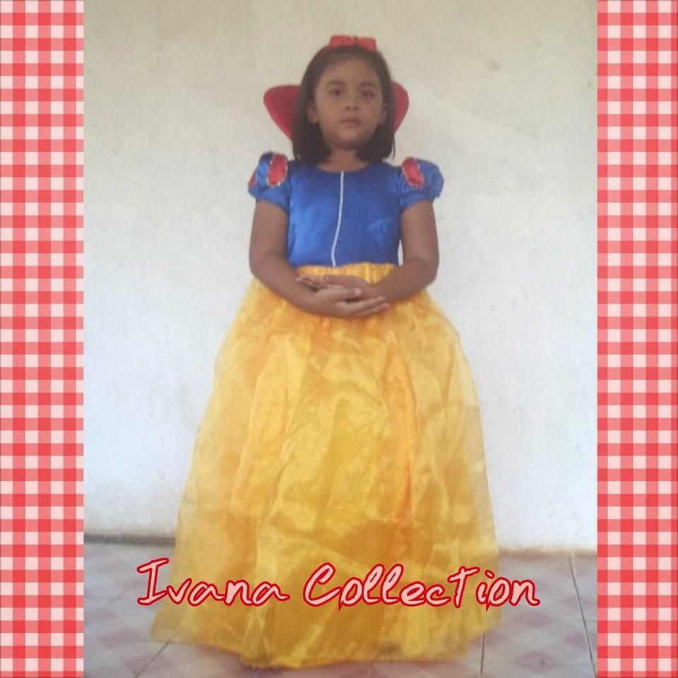 Baju Anak Karakter Princes