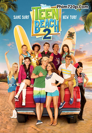 Teen Beach 2 2015 poster