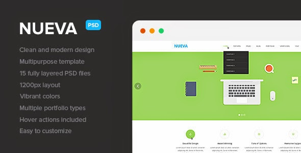 themeforest psd