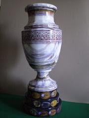 Trofeo Copa America Papercraft