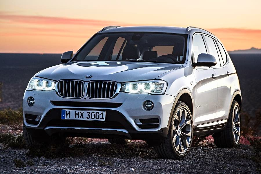 BMW X3 xDrive20d xLine (2014) Front Side