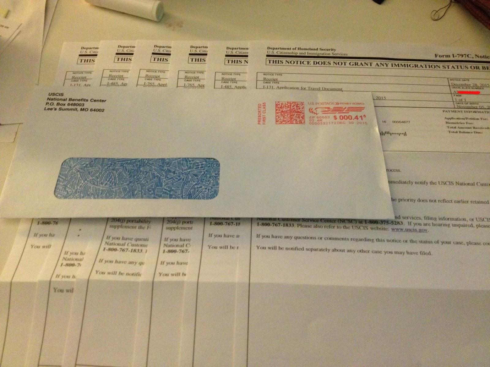 My journey k1k2 adjustment of statusaos i 485 advance parole 1816 got our biometric schedule letter for jan 20 falaconquin