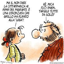 Le strane idee di Beppe Grillo