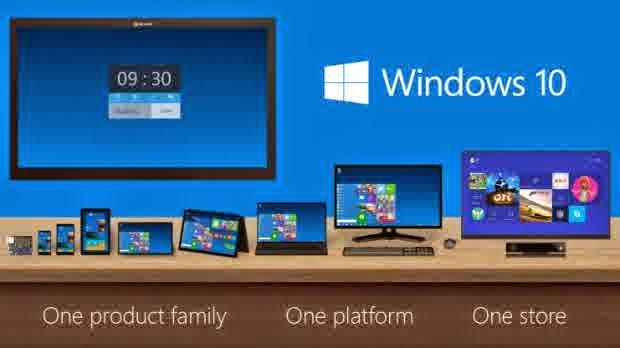 Generasi terbaru dari Microsof Windows 10