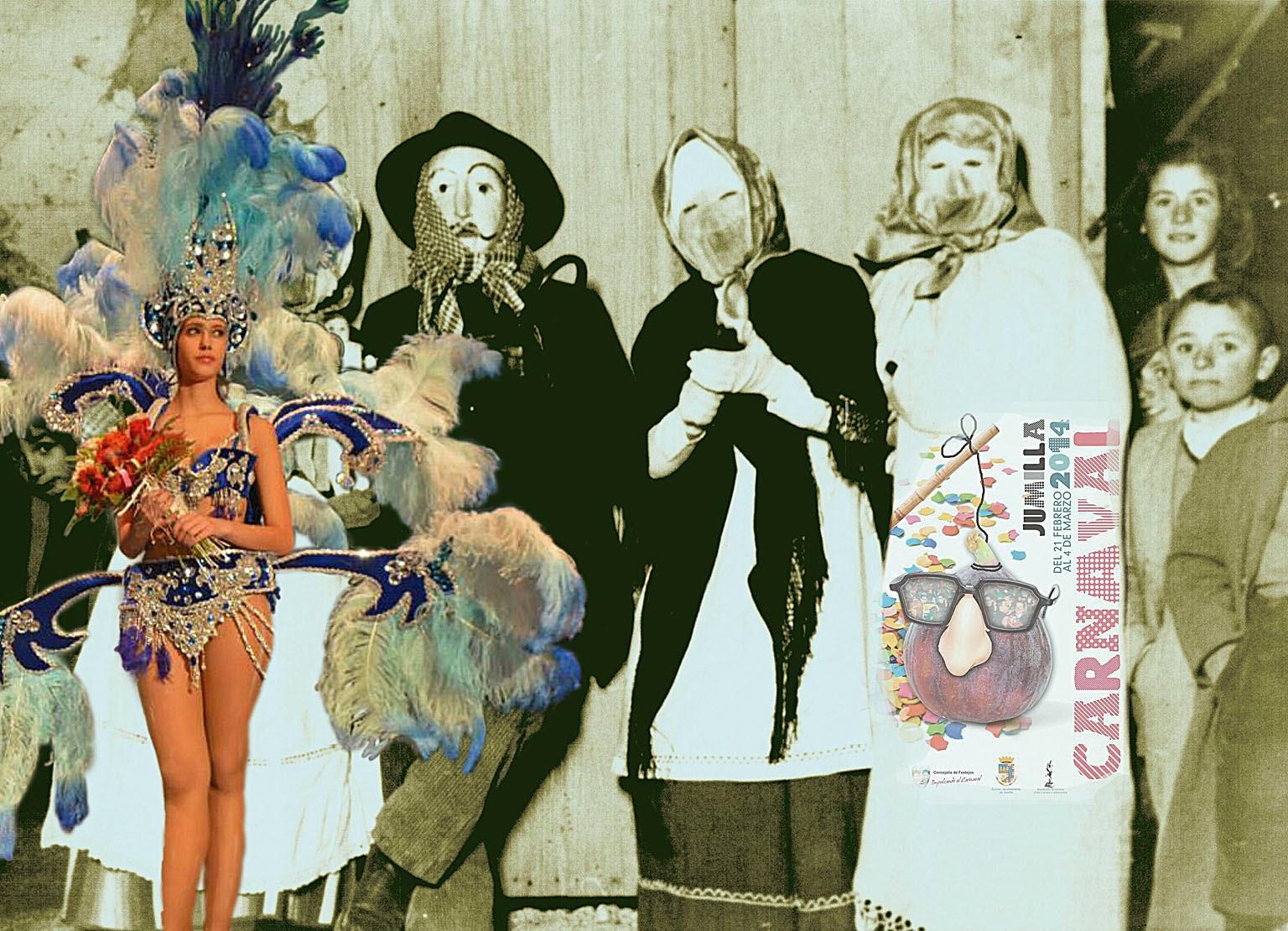 Carnaval, Jumilla, Máscaras