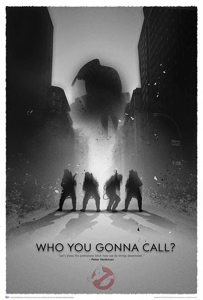 Poster Cazafantasmas Who You Gonna Call
